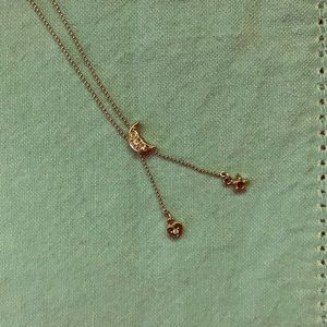 Jewelry - Moon star and heart necklace